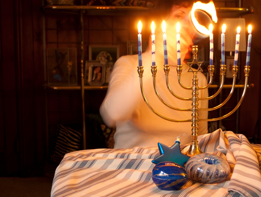 I'm dreaming of a white… Hanukkah?