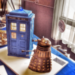 Doctor Who Cake with Dalek