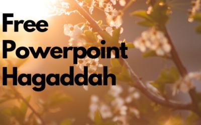 Free Passover Powerpoint Hagaddah